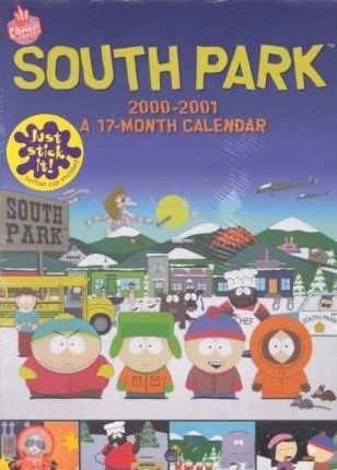 South Park Locker 2001 Calendar