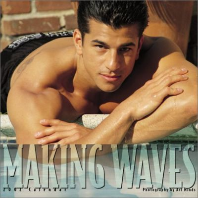 Making Waves Men 2002 Calendar