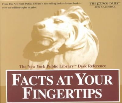 Facts at Your Fingertips 2002 Calendar