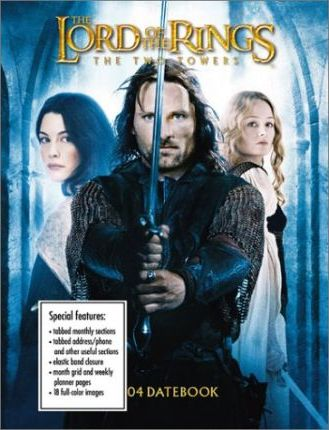 The Lord of the Rings 2004 Datebook Calendar