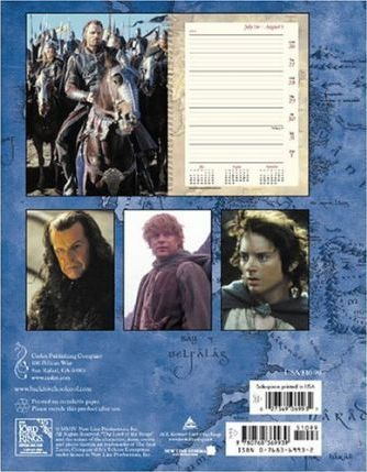 The Lord of the Rings (The Return of the King) 2004-2005 Student Planner