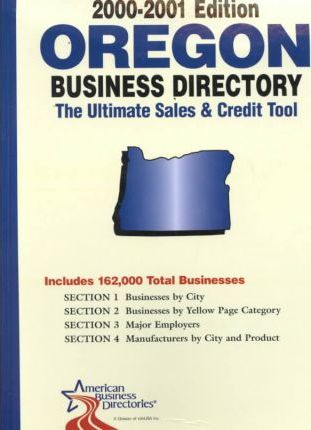Oregon Business Directory (2000-2001)