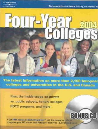 Undergraduate Guide to Four Year Colleges 2004
