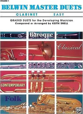 Belwin Master Duets (Clarinet), Vol 1  Easy