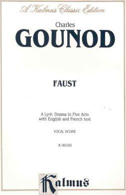 Faust : French, English Language Edition, Vocal Score