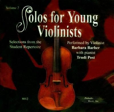 Solos for Young Violinists, Vol 2 : Selections from the Student Repertoire