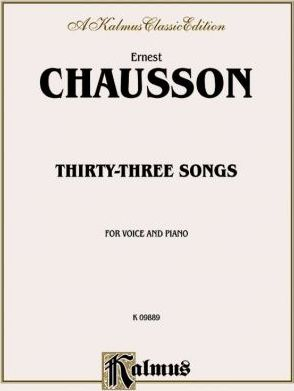 Thirty-Three Songs : French Language Edition