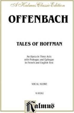 The Tales of Hoffmann : French, English Language Edition, Vocal Score