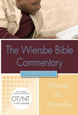 Wiersbe Bible Commentary 2 Vol Set W/CD ROM