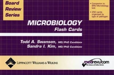 BRS Microbiology Flash Cards : Todd Swanson : 9780781744270