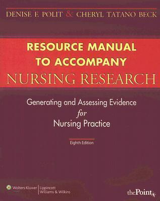 Nursing Research Student Resource Manual With Toolkit