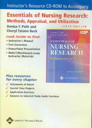 Instructor S Resource To Accompany Essentials Of Nursing