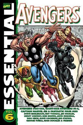 Essential Avengers: Vol. 6