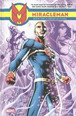 Miracleman Book Two Red King Syndrome Hardcover Marvel Graphic Novel Comic Book