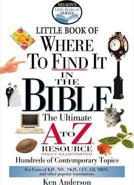 Little Book of Where to Find it in the Bible