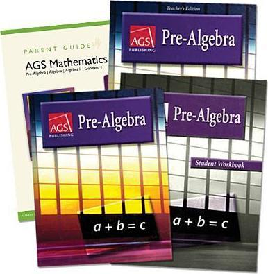 Ags Pre-Algebra 2004 Home School Bundle Kit Grade 5
