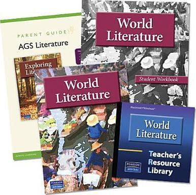 World Literature Student Edition + Workbook + Teacher Resource Library Grade 7