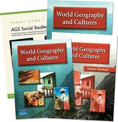 Ags World Geography and Cultures 2008 Homeschool Bundle