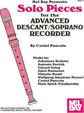 Solo Pieces for the Advanced Descant/Soprano Recorder