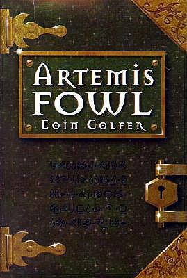 Artemis Fowl book cover - book to film adaptation