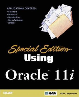 Special Edition Using Oracle 11i