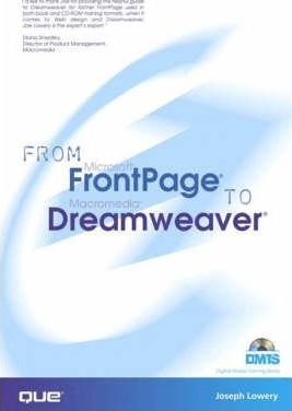 From Frontpage to Dreamweaver