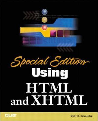 Special Edition Using HTML and XHTML
