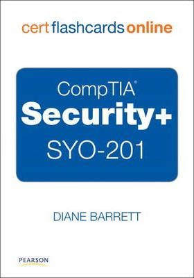 CompTIA Security+ SYO-201 Cert Flash Cards Online, Retail Packaged Version