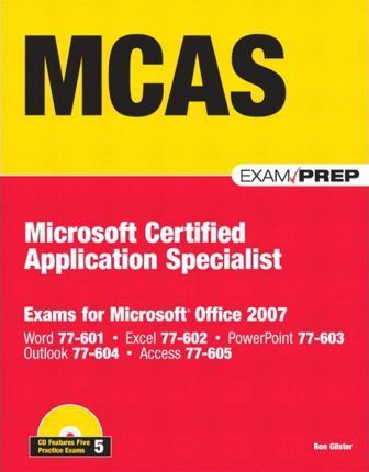 McAs Office 2007 Exam Prep