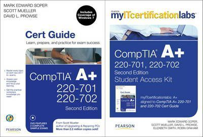 CompTIA A+ Cert Guide with MyITCertificationlab Bundle (220-701 and 220-702)