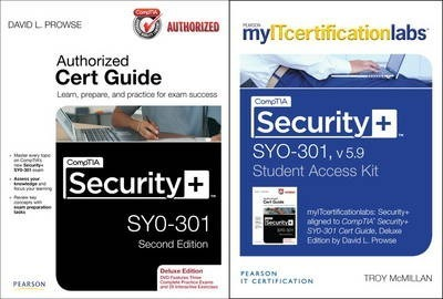 CompTIA Security+ SYO-301 Cert Guide, Deluxe Edition with MyITcertificationLab Bundle