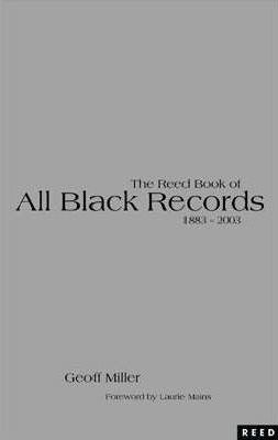 The Reed Book of All Black Records 1884-2003