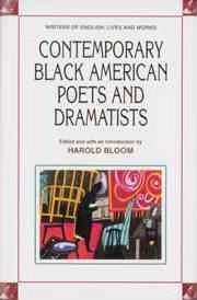 Contemporary Black American Poets and Dramatists