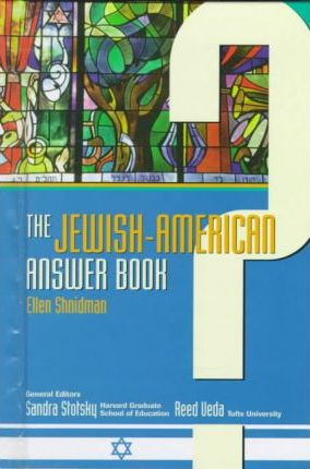 Jewish-American Answer Book(oop)