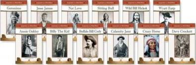 Legends of the Wild West Set, 12-Volumes