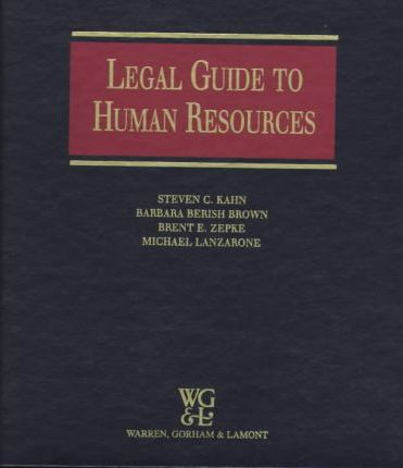 Legal Guide to Human Resources