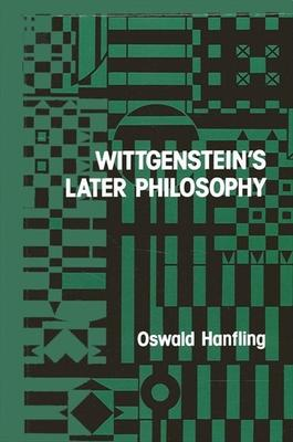 Wittgenstein's Later Philosophy