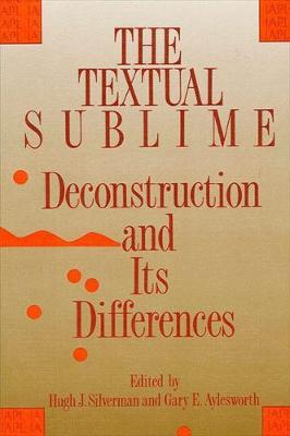 The Textual Sublime
