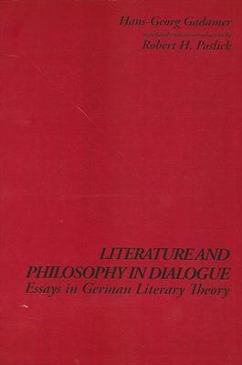 Literature and Philosophy in Dialogue