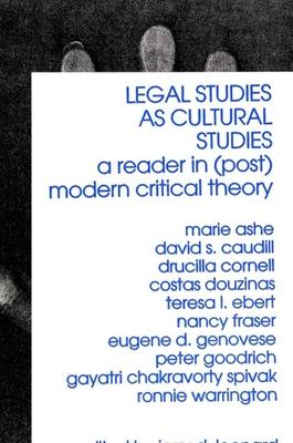 Legal Studies as Cultural Studies