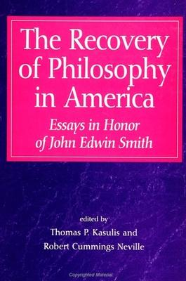 The Recovery of Philosophy in America
