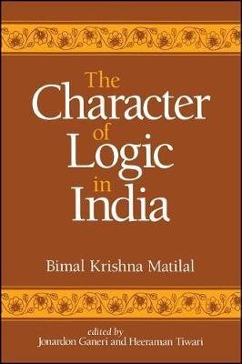 The Character of Logic in India
