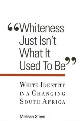 Whiteness Just Isn't What It Used To Be