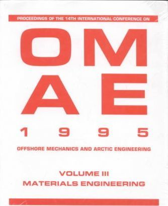 International Conference on OMAE: Materials Engineering 14th, v. 3