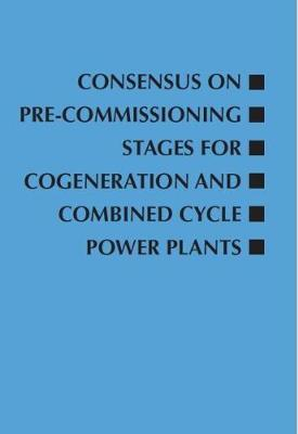 Consensus on Pre-Commissioning Stages for Cogeneration and Combined Cycle Power Plants
