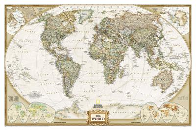 The world executive flat executive line national geographic maps the world executive flat executive line gumiabroncs Gallery