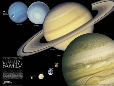 The Solar System, 2-Sided Flat
