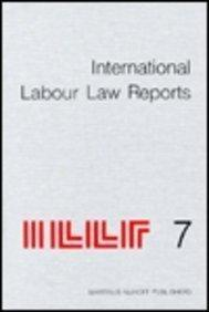 International Labour Law Reports, Volume 7