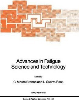 Advances in Fatigue Science and Technology
