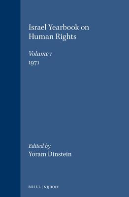 Israel Yearbook on Human Rights, Volume 1 (1971)
